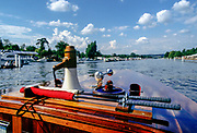 Henley Royal Regatta, Henley on Thames, ENGLAND,  1996 GV from Umpires launch, Photo: Peter Spurrier/Intersport Images.  Mob +44 7973 819 551/email images@intersport-images.com Rowing Course: Henley Reach