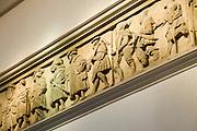 Dresden Neustadt, DreiKoenigskirche,  Renaissance Fries Totentanz, Dresden, Sachsen, Deutschland.|.Dresden, Germany,  Dresden Neustadt, DreiKoenigskirche, renaissance relief