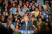 Columbus, Ohio, USA, 20151123: Milliardæren og presidentkandidaten Donald Trump holder kampanjemøte på konferansesenteret i Columbus. Foto: Ørjan F. Ellingvåg