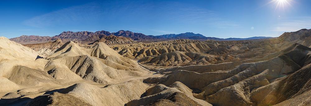 Climb up a random peak for gorgeous views; 20 Mule Team Canyon, Death Valley, California