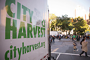 City Harvest at Union Square Farmers Market on June 7, 2017 in New York City. (Photo by Ben Hider)