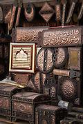 Handicrafts for sale, Cairo, Egypt