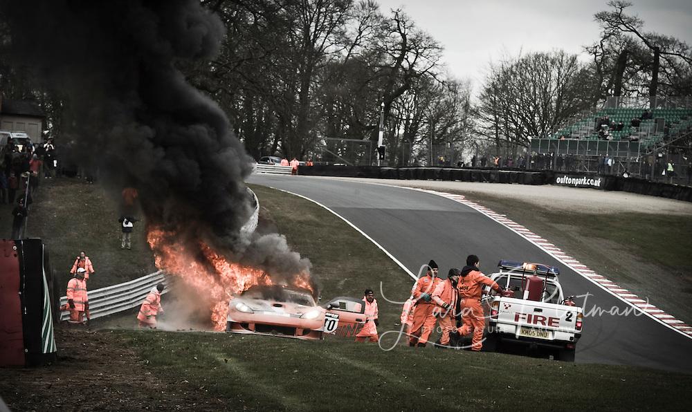 British GT Oulton Park 2013