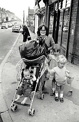 Young mother 1985 UK