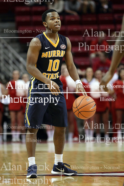 13 December 2015:  Chad Culbreath(10).  Illinois State Redbirds host the Murray State Racers at Redbird Arena in Normal Illinois (Photo by Alan Look)