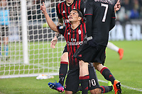 Torino - 10.03.2017 - Serie A 28a giornata  -  Juventus-Milan   - nella foto:  Carlos Bacca esulta dopo il gol dell' 1 a 1