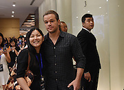 "BEIJING, CHINA - JULY 02: (CHINA OUT) Actor Matt Damon attends ""The Great Wall\"" press conference at Park Hyatt Hotel on July 2, 2015 in Beijing, China. <br /> ©Exclusivepix Media"