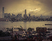 Rain Over Kowloon - Hong Kong, China