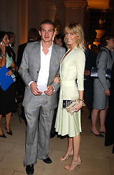 MR JACOBI ANSTRUTHER-GOUGH-CALTHORPE and LADY EMILY COMPTON at a evening to celebrate the unveiling of the British Luxury Club at The Orangery, Kensington Palace, London W8 on 16th September 2004.<br /><br />NON EXCLUSIVE - WORLD RIGHTS