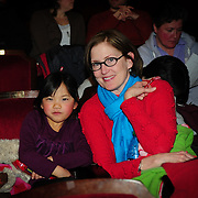 Audience member(s) before a concert by the Soweto Gospel Choir at The Music Hall in Portsmouth, NH