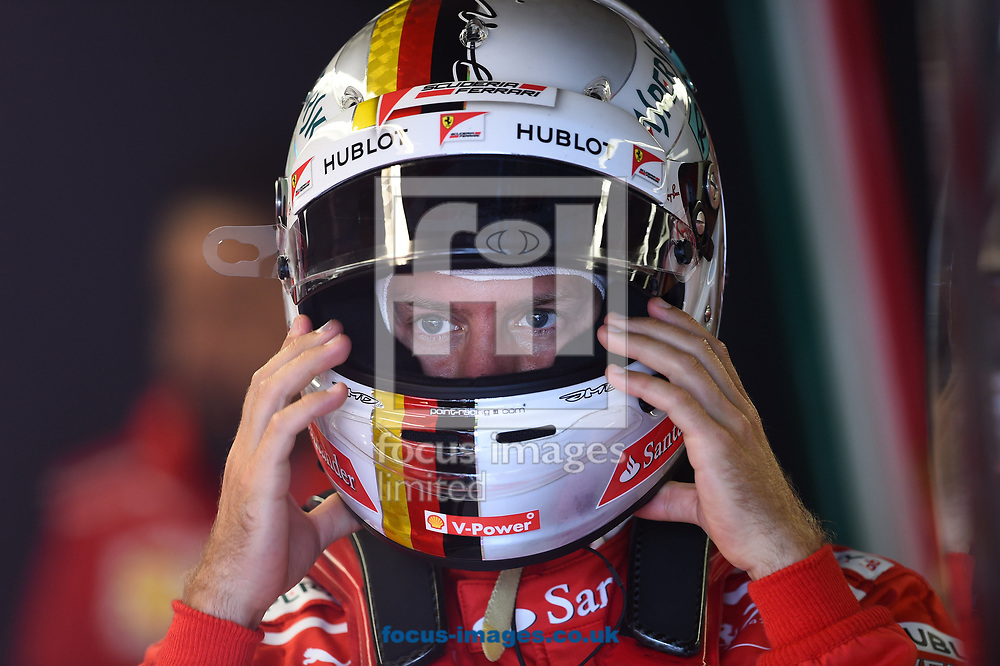 Sebastian Vettel of Scuderia Ferrari during the practice session of the Canadian Formula One Grand Prix at the Circuit Gilles Villeneuve, Montreal<br /> Picture by EXPA Pictures/Focus Images Ltd 07814482222<br /> 09/06/2017<br /> *** UK &amp; IRELAND ONLY ***<br /> <br /> EXPA-EIB-170609-0288.jpg