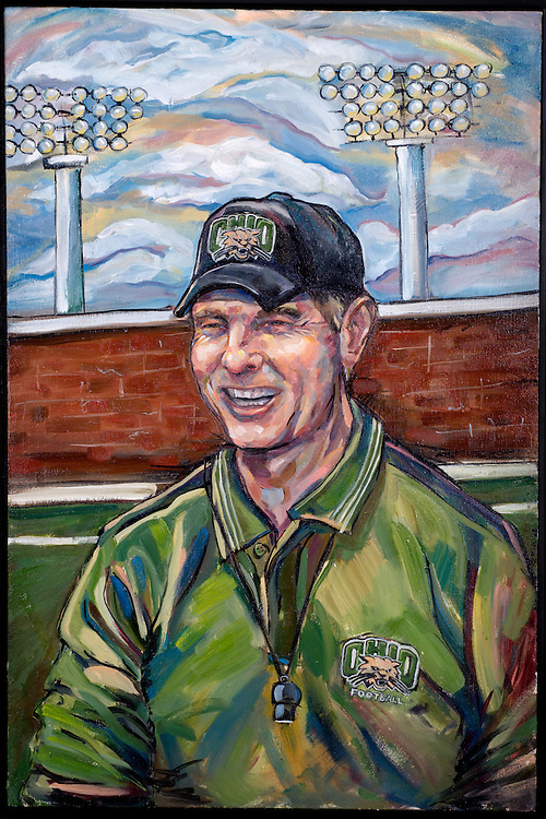 17045Frank Solich Painting By ---McGill : Copy Photos