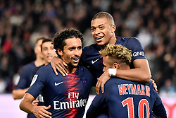 October 7, 2018 - Paris, ile de france, France - Killian Mbappe during the french Ligue 1 match between Paris Saint-Germain (PSG) and Olympique Lyonnais (OL, Lyon) at Parc des Princes stadium on October 7, 2018 in Paris, France. (Credit Image: © Julien Mattia/NurPhoto/ZUMA Press)
