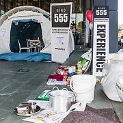 NLD/Hilversum/20181010 -  555 actiedag voor Sulawesi, Noodhulppakket, nood tent