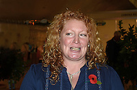Charlie Dimmock, gardening expert, television presenter, gardening & home expo, Estepona, Spain, 201211100863..Copyright Image from Victor Patterson, 54 Dorchester Park, Belfast, UK, BT9 6RJ..Tel: +44 28 9066 1296.Mob: +44 7802 353836.Voicemail +44 20 8816 7153.Skype: victorpattersonbelfast.Email: victorpatterson@me.com.Email: victorpatterson@ireland.com (back-up)..IMPORTANT: If you wish to use this image or any other of my images please go to www.victorpatterson.com and click on the Terms & Conditions. Then contact me by email or phone with the reference number(s) of the image(s) concerned.