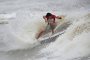 Gold Coast Australia, January 27: Arashi Kato of Japan rides a wave in his round 4 heat against Jack Freestone of Australia during the 2012 Billabong Pro Junior at Burleigh Heads on the Gold Coast, Australia on Friday January 27th, 2012. (Photo: Matt Roberts/OOLmedia.com)