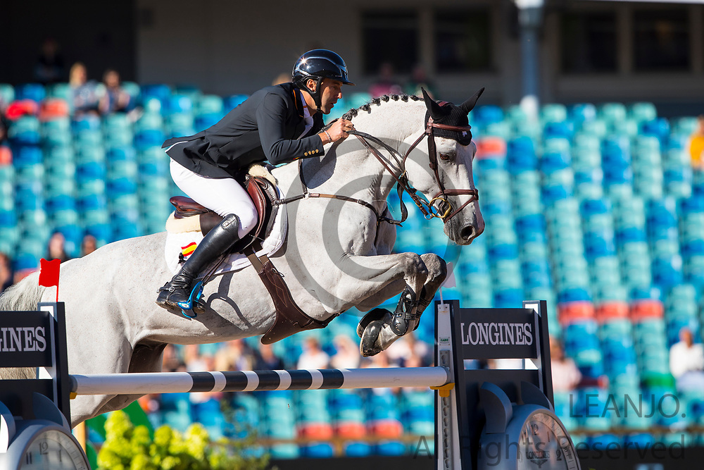 Gerardo Menendez Mieres - Cassino DC<br /> FEI European Championships Gothenburg 2017<br /> &copy; DigiShots