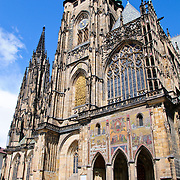 Exterior of St. Vitus Cathedral