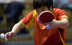 Hao Shuai of China at 10th Slovenian Open Table Tennis Championships - Pro Tour Velenje Slovenian Open tournament, in Round 1, on January 15, 2009, in Red sports hall, Velenje, Slovenia. (Photo by Vid Ponikvar / Sportida)