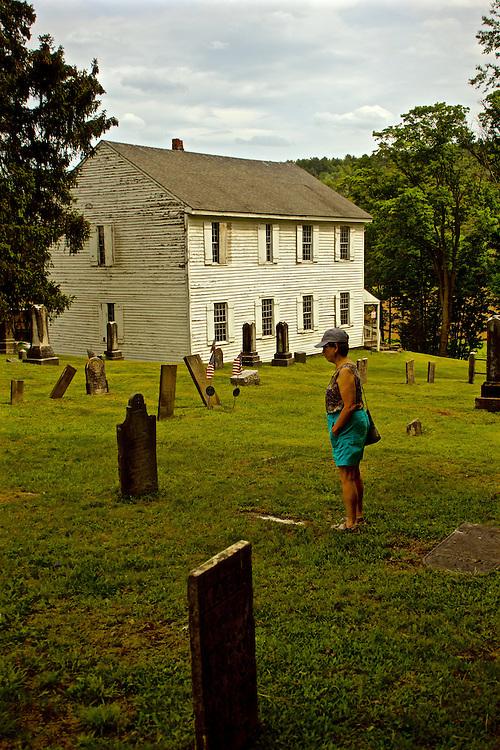 Northcentral Pennsylvania, 1822 ME Church, West Burlington, PA, Bradford County
