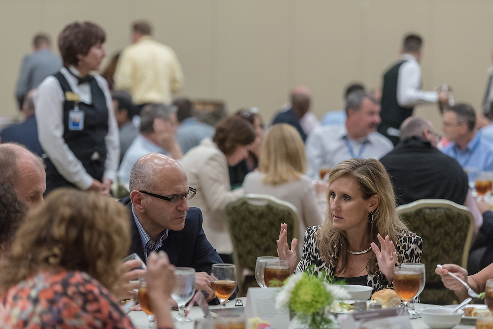 Lunchtime at Lilly's Global Leadership Conference Wednesday, Aug. 24, 2016 at French Lick Springs Hotel in French Lick, Ind. (Photo by Brian Bohannon for Eli Lilly and Company)
