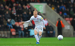 Ryan Broom of Cheltenham Town in action- Mandatory by-line: Nizaam Jones/JMP - 15/02/2020 - FOOTBALL - Jonny-Rocks Stadium - Cheltenham, England - Cheltenham Town v Leyton Orient - Sky Bet League Two
