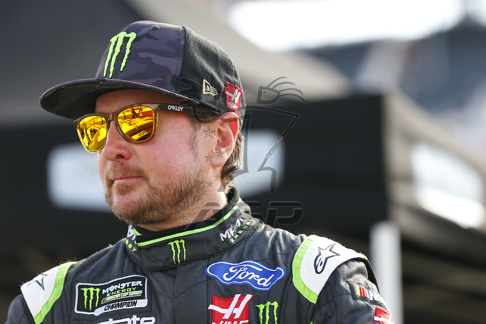 August 18, 2017 - Bristol, Tennessee, USA: Kurt Busch (41) hangs out on pit road prior to qualifying for the Bass Pro Shops NRA Night Race at Bristol Motor Speedway in Bristol, Tennessee.