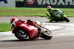CARL FOGARTY DUCATI, WSB World Superbike Championship Donington Park 3rd October  1993