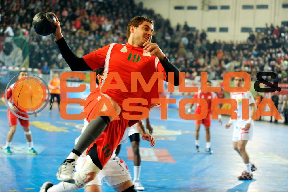 DESCRIZIONE : France Hand Coupe Afrique des Nations Homme Maroc Rabat<br /> GIOCATORE : Idir Soufian<br /> SQUADRA : Maroc<br /> EVENTO : FRANCE Hand CAN<br /> GARA : Tunisie Maroc<br /> DATA :19/01/2012<br /> CATEGORIA : Hand CAN<br /> SPORT : Handball<br /> AUTORE : JF Molliere <br /> Galleria : France Hand 2011-2012 Action<br /> Fotonotizia : CAN Hand RABAT Maroc<br /> Predefinita :