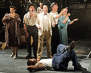 Street Scene<br /> music by Kurt Weill<br /> Book by Emer Rice<br /> Lyrics by Langston Hughes<br /> at The Young Vic Theatre, London, Great Britain <br /> press photocall<br /> 16th September 2011 <br /> <br /> Company <br /> <br /> Photograph by Elliott Franks