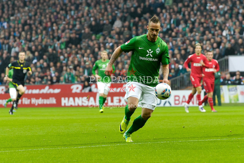 05.11.2011, Weser Stadion, Bremen, GER, 1.FBL, Werder Bremen vs 1.FC Köln, im Bild Marko Arnautovic (Bremen #7) // during the match GER, 1.FBL, Werder Bremen vs 1.FC Koeln on 2011/11/05, 12. matchday, Weser Stadion, Bremen, Germany. EXPA Pictures © 2011, PhotoCredit: EXPA/ nph/  Gumz       ****** out of GER / CRO  / BEL ******
