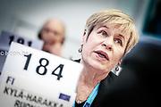 Photos of the debat with Dăncilă Viorica<br /> KYLA-HARAKKA-RUONALA Tellervo