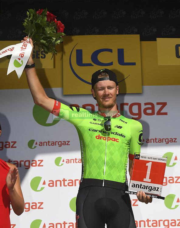 July 7, 2017 - France - VAN BAARLE Dylan of Cannondale-Drapac Pro Cycling Team (Credit Image: © Panoramic via ZUMA Press)