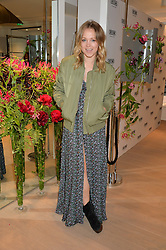 POPPY JAMIE at the launch of the new Rimowa store at 153a New Bond Street, London on 29th June 2016.