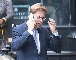 © Licensed to London News Pictures. 22/05/2019. London, UK. Tobias Ellwood, Parliamentary Under Secretary of State at the Ministry of Defence Parliament,  is seen at Parliament after attending question time. Photo credit: Peter Macdiarmid/LNP