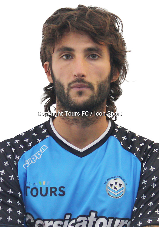 Anthony Lippini during the during photoshooting of Tours FC for new season 2017/2018 on October 5, 2017 in Tours, France<br /> Photo : Tours FC / Icon Sport