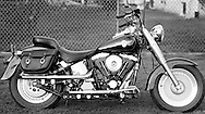 1993 FLSTF Fat Boy, when first purchased in 1993 by William Cain.©1993 William T. Cain