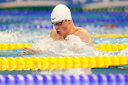 Adam Peaty of Great Britain wins a Gold Medal in the Mens 50m Breaststroke Final - Photo mandatory by-line: Rogan Thomson/JMP - 07966 386802 - 23/08/2014 - SPORT - SWIMMING - Berlin, Germany - Velodrom im Europa-Sportpark - 32nd LEN European Swimming Championships 2014 - Day 11.