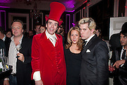 SEBASTIAN HORSLEY; BATSHEVA LAZARUS; DICKON EDWARDS, First night party for Dandy In The Underworld which opened at the  Soho Theatre, 21 Dean Street. House Of St Barnabas, 1 Greek Street, 15 June 2010. -DO NOT ARCHIVE-© Copyright Photograph by Dafydd Jones. 248 Clapham Rd. London SW9 0PZ. Tel 0207 820 0771. www.dafjones.com.