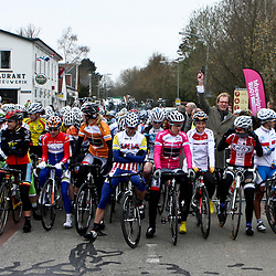 before the start of stage 2 Energiewachttour in Bad Nieuweschans