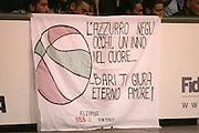 DESCRIZIONE : Bari Amichevole Nazionale Italiana Uomini <br /> Italia-Croazia<br /> GIOCATORE : Tifo Tifosi Fan Supporter<br /> SQUADRA : Nazionale Italiana Uomini Italia<br /> EVENTO : Raduno di Bari Nazionale Italia<br /> GARA : Italia Croazia<br /> DATA : 02/06/2007 <br /> CATEGORIA :<br /> SPORT : Pallacanestro <br /> AUTORE : Agenzia Ciamillo-Castoria/E.Castoria<br /> Galleria : Fip Nazionali 2007 <br /> Fotonotizia : Bari Amichevole Nazionale Italiana Uomini <br /> Italia-Croazia<br /> Predefinita :