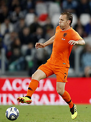 Ruud Vormer of Holland during the International friendly match between Italy and The Netherlands at Allianz Stadium on June 04, 2018 in Turin, Italy