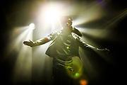 Usher performs on December 14, 2014 at Amalie Arena in Tampa, Florida