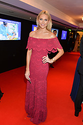 STEPHANIE PRATT at the Chain of Hope Gala Ball held at The Grosvenor House Hotel, Park Lane, London on 18th November 2016.