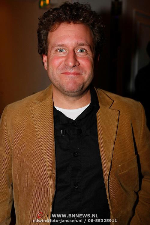 NLD/Leiden/20100117 - Premiere toneelstuk Bedrog, Thijs van Aken