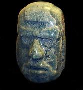 Mayan Jade head of a man.