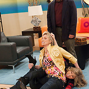 Jane Lynch, Miranda Cosgrove, Jennette McCurdy in iCarly