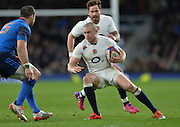 Twickenham, Great Britain, Mike BROWN, during the Six Nations Rugby England vs France, played at the RFU Stadium, Twickenham, ENGLAND. <br /> <br /> Saturday   21/03/2015<br /> <br /> [Mandatory Credit; Peter Spurrier/Intersport-images]