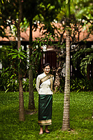 The Green Park Boutique Hotel in Vientiane, Laos.