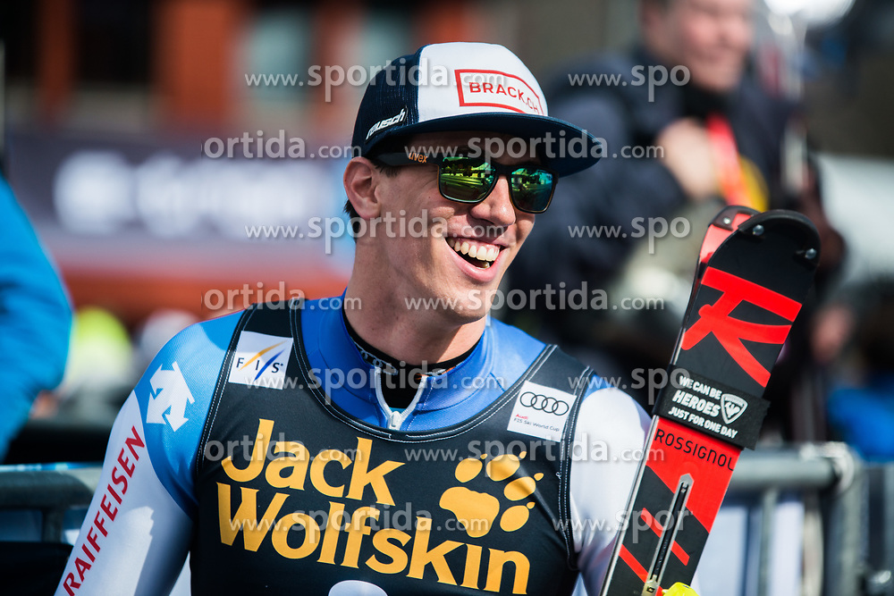 Winner ZENHAEUSERN Ramon of Switzerland during the Audi FIS Alpine Ski World Cup Men's Slalom 58th Vitranc Cup 2019 on March 10, 2019 in Podkoren, Kranjska Gora, Slovenia. Photo by Matic Ritonja / Sportida